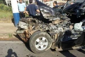 Manhuaçu: grave acidente na Capitão Rafael, centro da cidade