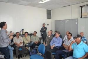 Manhuaçu: Prefeitura e Energisa se reúnem para debater iluminação pública