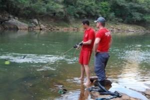 Ipanema: homem é assassinado. Corpo é jogado em cachoeira
