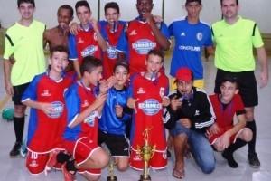 Luisburgo: Chelsea é campeão mirim da Copa Futsal de Verão