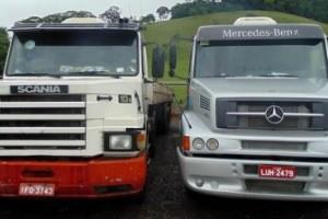 Divino: Polícia Rodoviária Federal apreende carretas roubadas