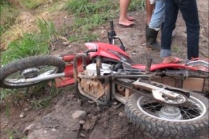 Santa Bárbara do Leste: Motociclista morre em acidente na BR 116