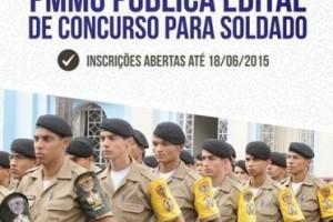 Variedades: PM lança edital de concurso para soldados