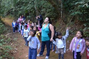 Manhuaçu: Alunos do EMEI Engenho da Serra visitam Ecolândia