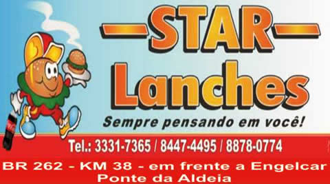 Star Lanches lateral