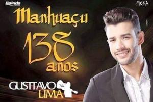 Manhuaçu: Gusttavo Lima canta na cidade dia 04 de novembro