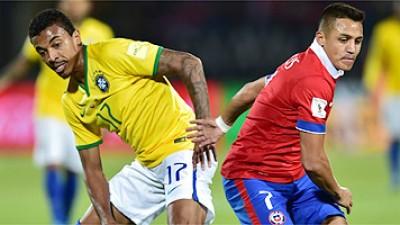 Seleção Brasileira: Chile quebra tabu e vence por 2 a 0