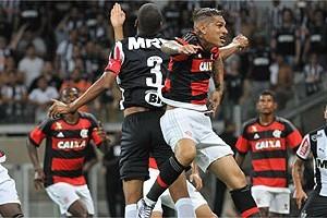 Atlético é derrotado pelo Flamengo. Jemerson vai embora