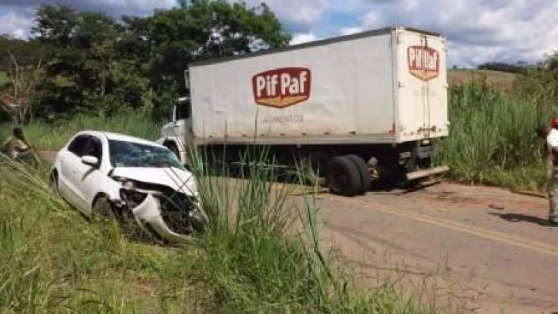 Estradas: Duas pessoas morrem na região de Manhuaçu