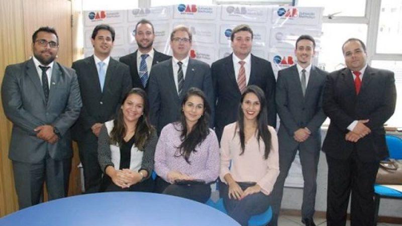 Manhuaçu: OAB empossa Conselho do Jovem Advogado