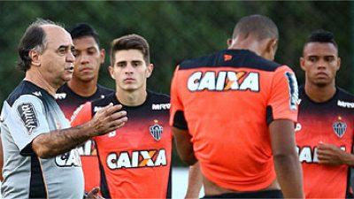 Time do Atlético para enfrentar o Grêmio é mistério