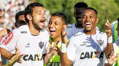 Fred marca dois na vitória do Atlético em Valadares