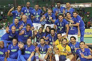 Cruzeiro é tetra no vôlei sul-americano