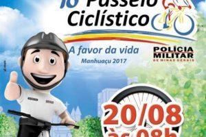 Passeio Ciclístico a favor da vida é neste domingo