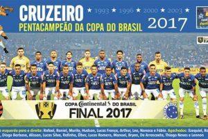 Cruzeiro é pentacampeão da Copa do Brasil