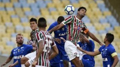 Cruzeiro perde a segunda o Campeonato Brasileiro