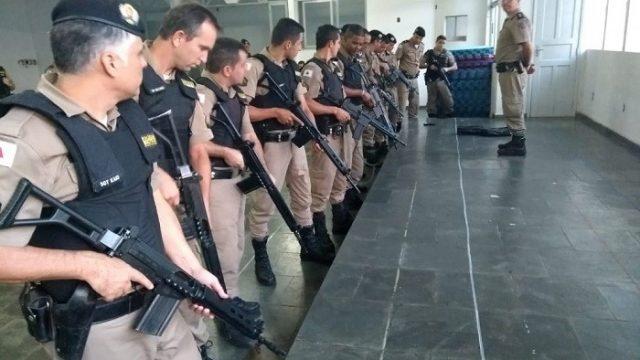 Manhuaçu: 11° BPM realiza curso de credenciamento ao uso de fuzil