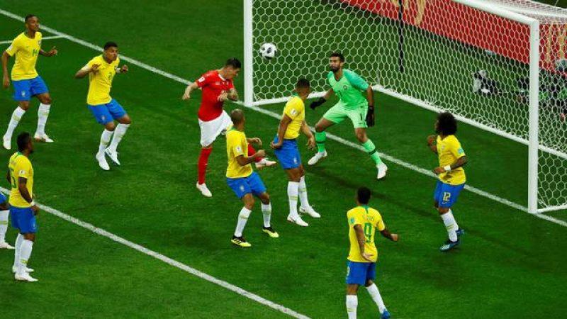 Brasil não convence e só empata com a Suíça: 1 a 1