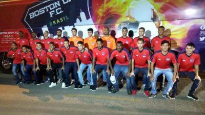 Boston City Brasil apresenta jogadores e comissão técnica do time profissional