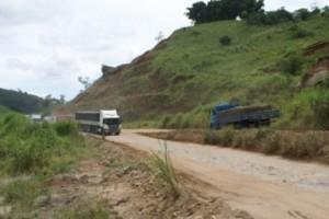 BR 116: trecho entre Muriaé e Fervedouro está entre os mais perigosos de Minas