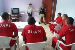 Manhuaçu: detentos participam de curso profissionalizante