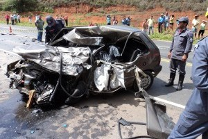 Iapu: Acidente fatal mata uma pessoa na BR 458
