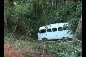 Santa Bárbara do Leste: nove trabalhadores rurais feridos em acidente com Kombi