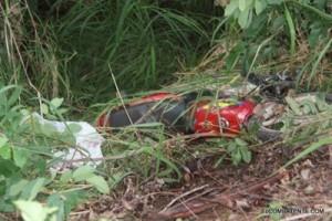 Carangola: motociclista morre após bater em árvore