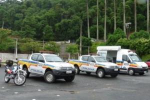 Manhuaçu: 11º Batalhão de Polícia Militar recebe novas viaturas