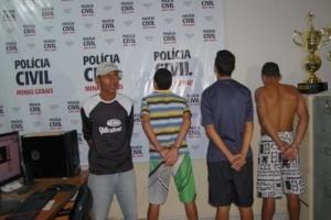 Manhuaçu: PC prende autores de furto em residência de médico no Pinheiro