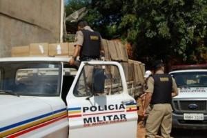 Manhuaçu: homem é preso por contrabando de cigarro e porte de arma de fogo