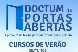 Manhuaçu: Doctum oferece cursos de capacitação gratuitos