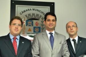 Manhuaçu: Diretoria da OAB visita Câmara Municipal