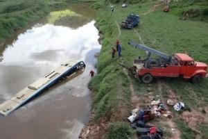 Muriaé: encontrada mais uma vítima de acidente com ônibus