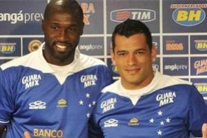 Cruzeiro: Samudio e Rodrigo Souza são apresentados