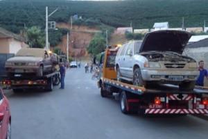 Martins Soares: polícia apreende dois carros furtados em garagem de vereador