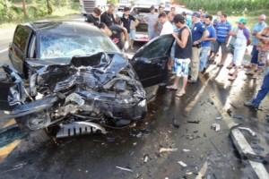Fervedouro: acidente gravíssimo deixa um morto e oito feridos
