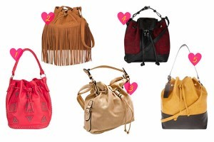 As famosas amam bolsa-saco