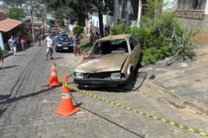 Carangola: preso motorista acusado de dirigir carro que matou estudante