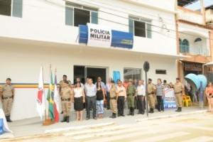 Simonésia: PM passa a contar com nova sede para o Pelotão