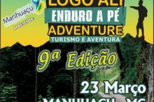 """Manhuaçu: """"Logo Ali Adventure"""""""" será dia 23 de março"""