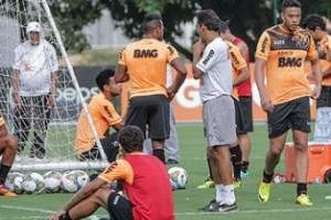 Libertadores: Atlético pronto para pegar o Nacional, no Independência
