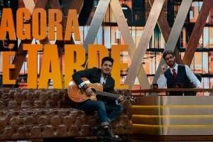 Artistas: Rafinha Bastos melhora audiência da Band; Bonner pede perdão ao Papa…