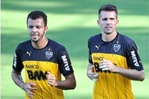 Libertadores: Atlético não terá Vitor e Ronaldinho no jogo desta quinta