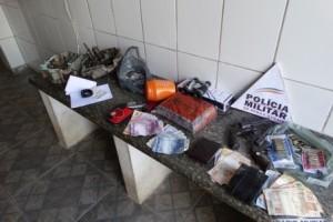 Carangola: bandidos assaltam, trocam tiros e são feridos pela polícia