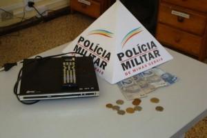Lajinha: Polícia Militar recupera produto furtado