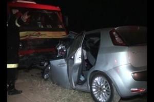 Ubaparonga: acidente mata 1 pessoa e fere mais 3, na BR 116