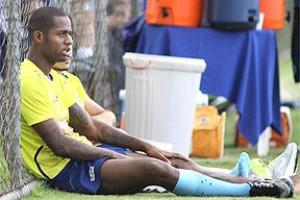 Cruzeiro: Dedé sofre lesão no joelho direito e desfalca time