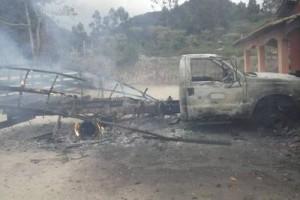 Divino: tentativa de homicídio e carros incendiados