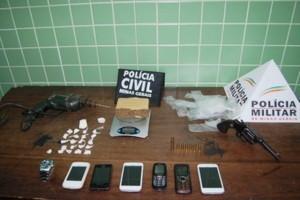 Manhuaçu/Vilanova: PM e PC prendem suspeitos de roubo de 33 mil reais